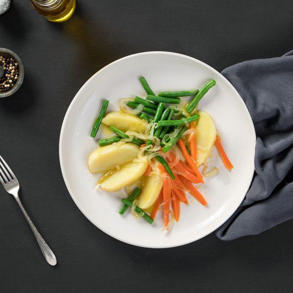Receta de verduras al vapor