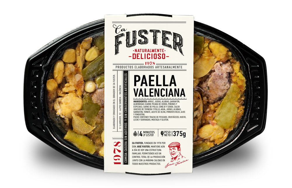 Tupper de paella valenciana