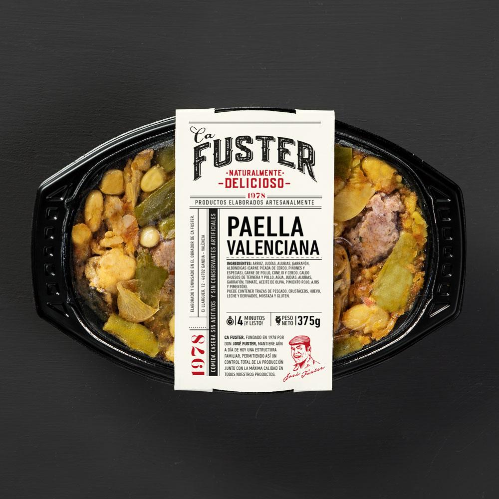 Paella valenciana para llevar