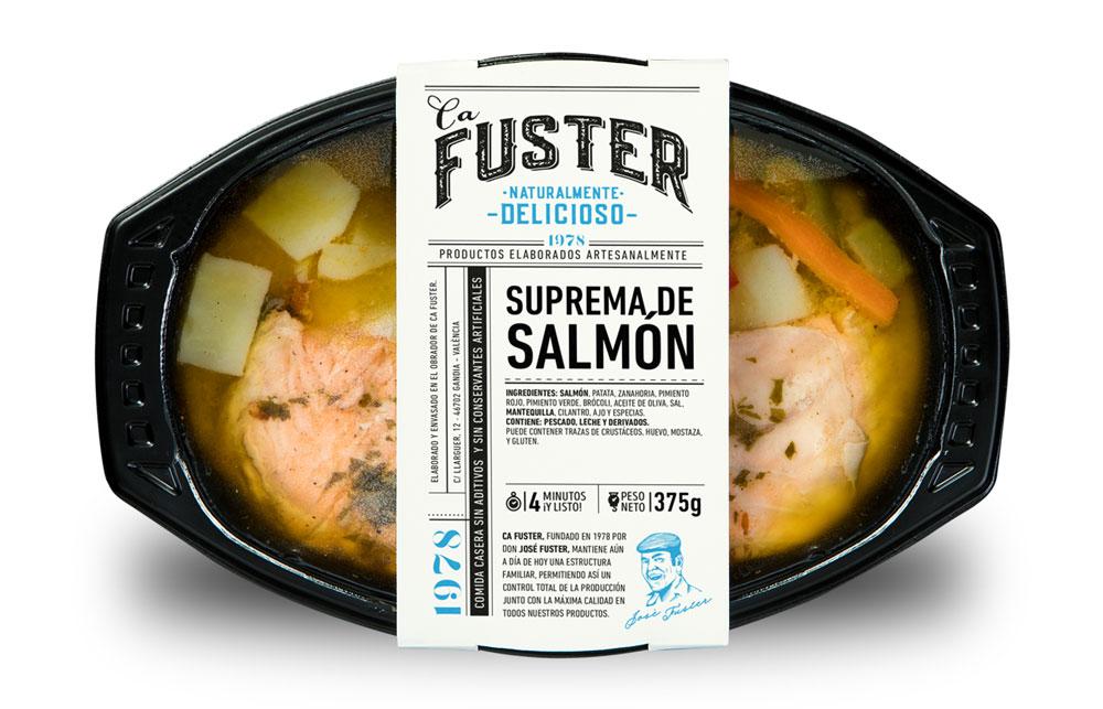 Tupper suprema de salmón