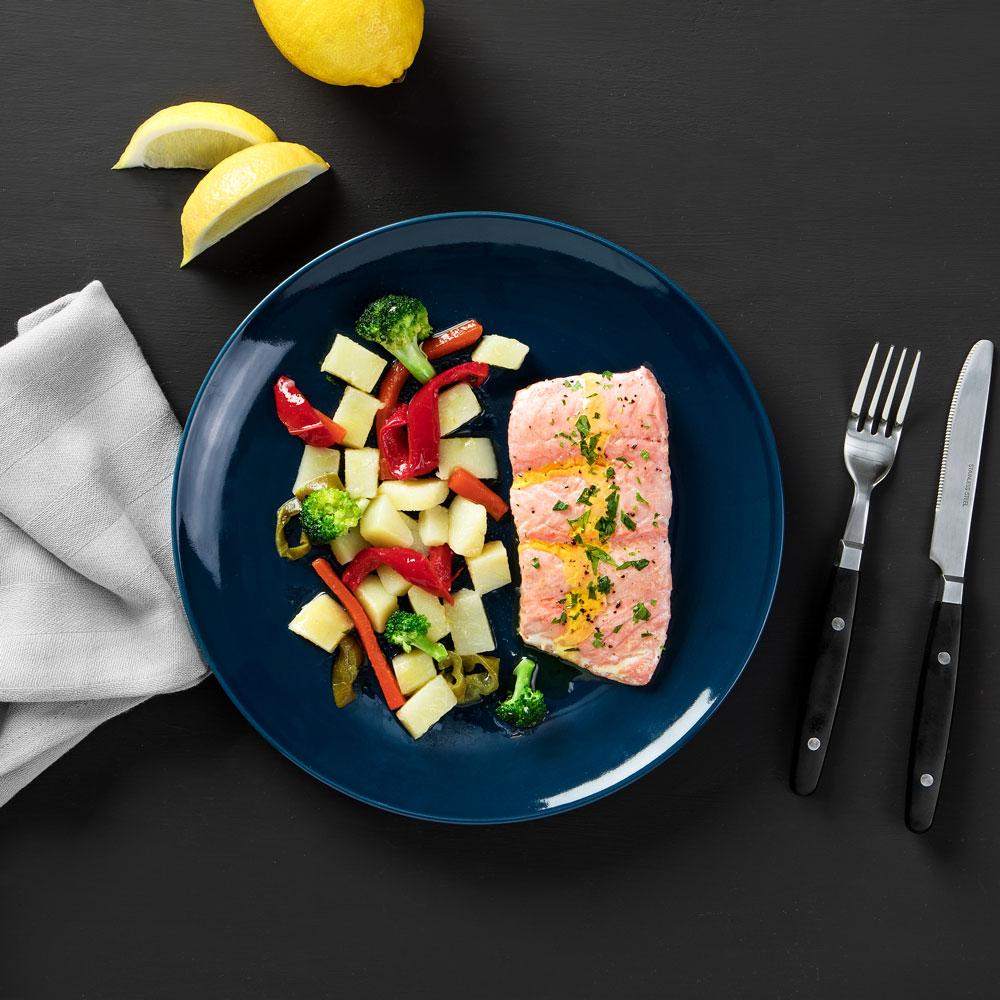 Receta de suprema de salmón