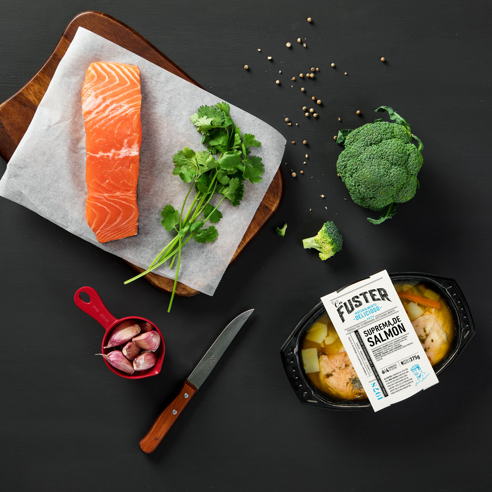 Ingredientes salmón