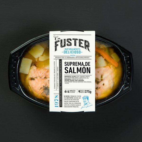 Suprema de salmón para llevar
