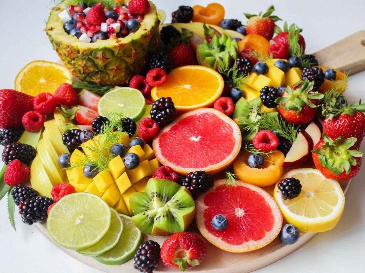 piña naranja frutas de verano frutas para combatir el calor